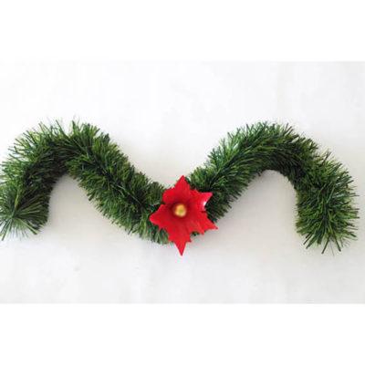 guirnalda decorada verde - Guirnaldas De Navidad